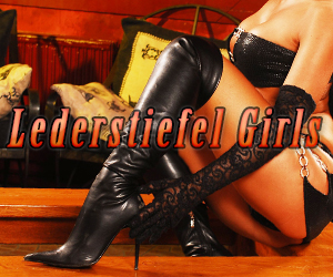 Lederstiefel Girls